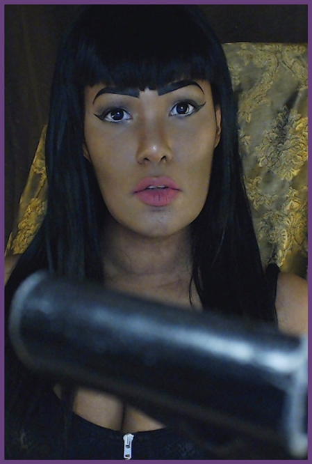 gorgeous Ebony femdom mistress Divine Nemesis