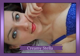 Italian independent camgirl Creamy Stella