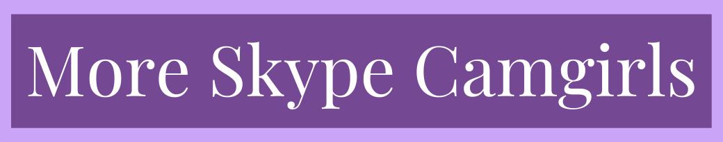More Skype Camgirls logo